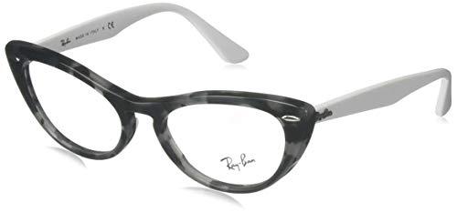 Ray-Ban 0RX4314V Montature, Nero (Grey Havana), 51.0 Donna