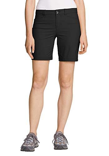 Eddie Bauer Damen Horizon Shorts, Gr. 10 (40), Schwarz