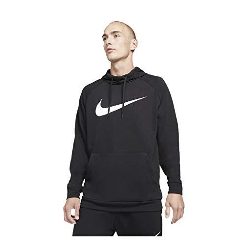 Nike CZ2425-010 M NK DF HDIE PO SWSH Felpa Uomo black/(white) L