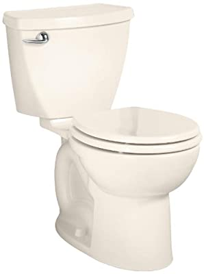 American Standard Cadet 3 Round Front Flowise Two-Piece High Efficiency Toilet with 10-Inch Rough-In