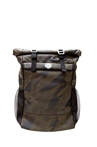 Barrier Bag FARADAY Backpack-BLOCKS all signals! Protect against hackers & EMPs (Gnu Green)