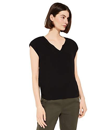 comma Damen 81.005.32.3646 Kurzarm T-Shirt, 9999, 38