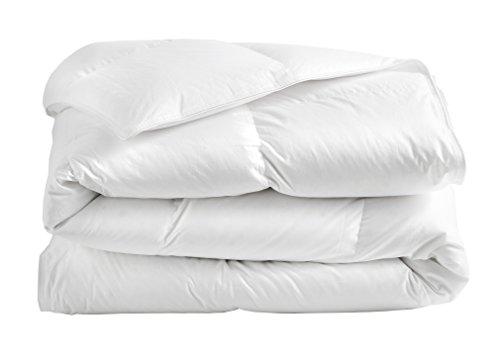 Blanc des Vosges Bandiera Piumino Matrimoniale sintetico Cotone Bianco 240x 260cm