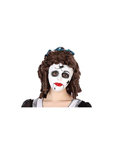 DISBACANAL Máscara muñeca de Porcelana