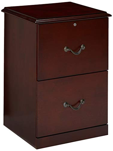 Z-Line Designs 2-Drawer Vertical File Cabinet, Cherry