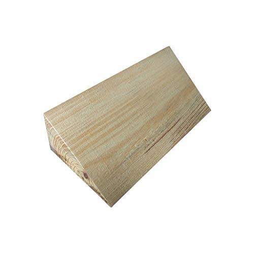 Las rampas for sillas de Ruedas, de Madera umbral de luz Rampas Uso en el hogar portátil Paso Triángulo del cojín Exterior encintado Rampas Altura: 6 cm (Size : 30 * 10 * 6CM)