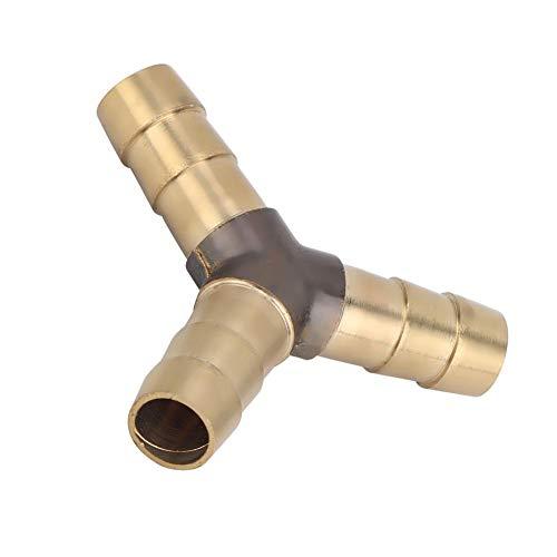 Jeffergarden 5 pz Raccordo a 8mm Spessore Ottone Tubo Giuntare Raccordo Connettore Giunto Accoppiatore Adattatore Utilizzato per impianto Idraulico Sistema Pneumatico Idraulico (A Forma di y)