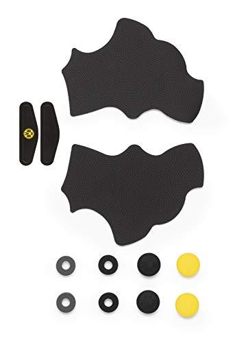 snakebyte BVB Controller Set (Dual-Shock 4 - PS4) - Offiziell lizensiertes Borussia Dortmund Gamepad Kit für Dualshock 4 / Tuning Kit / Aufkleber / Rutschfeste Griffpolster / Aufsätze für Joysticks