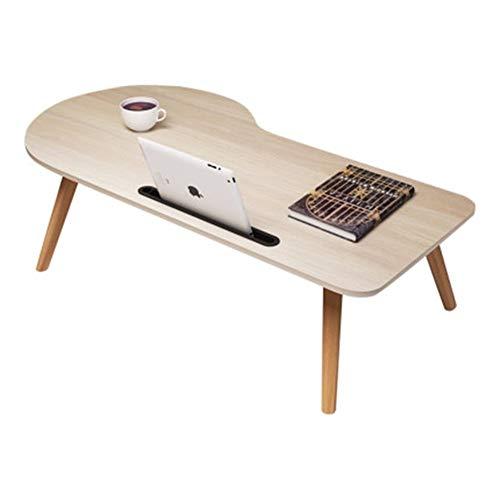 Yuanyuanliu Table Pliante Bureau D'ordinateur Portable Bureau Bureau Lit Paresseux, Une Petite Table Installation Gratuite Pliable (Color : A, Size : 100 * 50cm)