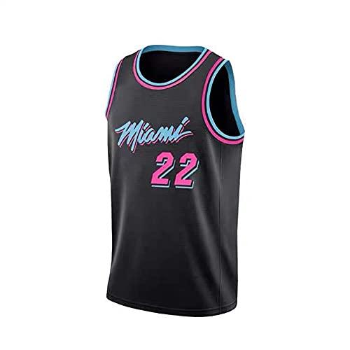 NBA - Camiseta de manga corta para hombre, diseño de Miami Heat No. 22