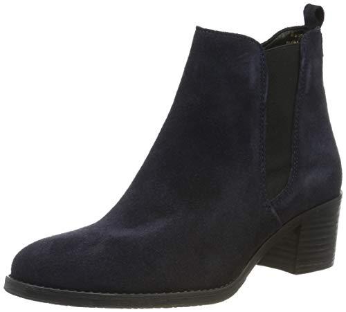 Tamaris Damen 1-1-25043-23 Chelsea Boots, Blau (Navy Suede 806), 37 EU