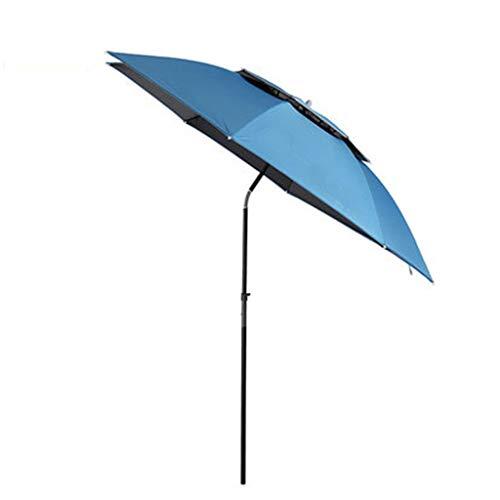 Mena Uk Fishing patio beach umbrella with windproof/waterprool/portable Tilt and Telescoping Pole/Sand Anchor sturdy umbrella, use for beach/lawn/back yard/patio/park/shadezilla/outdoor travel/garde