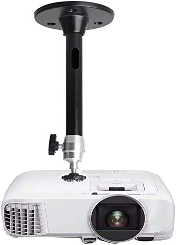 Mini-Deckenwand-Projektorhalterung, kompatibel mit QKK, DR.J Upgrade, DBPOWER, Anker, AAXA Technologies, Artlii, LoongSon, Apeman und den meisten anderen Mini-Projektoren (175 mm, schwarz)