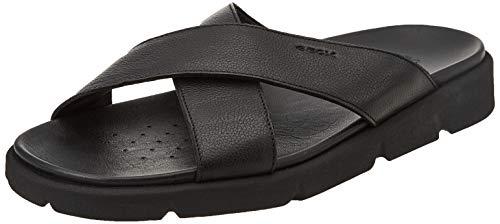 Geox U XAND 2S C, Slide Sandal Uomo, Nero, 40 EU