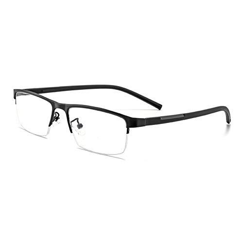 EYEphd Gafas de Sol fotocromáticas Inteligentes para presbicia para Hombres, Exquisita Lente de Resina de Alta definición con bisagras para Exteriores /UV400 Aumento +0.25 a +3.0,Negro,+2.5