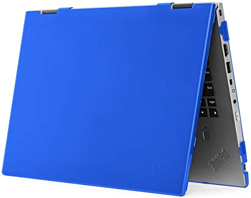 """mCover Hard Shell Case for 2020 14"""" Lenovo ThinkPad X1 Yoga (4th Gen) Laptop Computer (Blue)"""