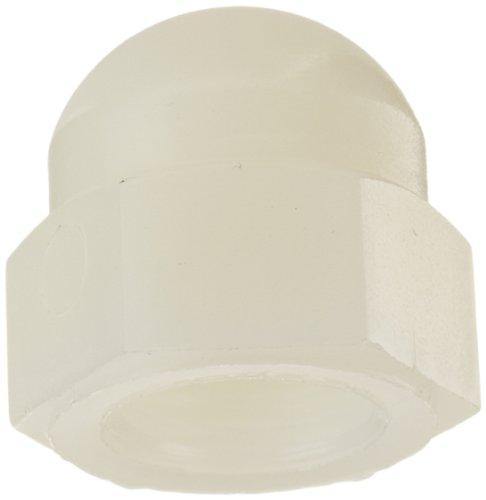 Nylon 6/6 Acorn Nut, USA Made, Off-White, 3/8