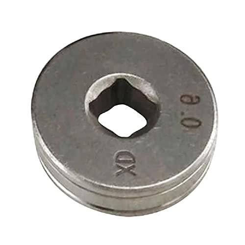 Acero de alta precisión 0.6X0.8 MIG soldador alambre alimentador rodillo para máquina de soldadura Rueda de conducción tig alambre alimentador pluma