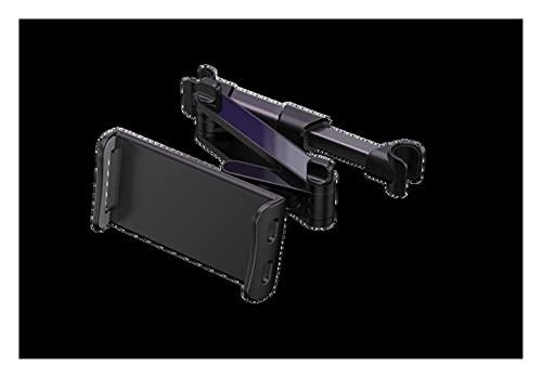 LINMAN Tableta de la Tableta del teléfono de la Tableta del teléfono de la Almohada Trasera del automóvil Soporte de Montaje del Soporte de la Tableta para 4-11 Pulgadas Tableta de teléfono móvil