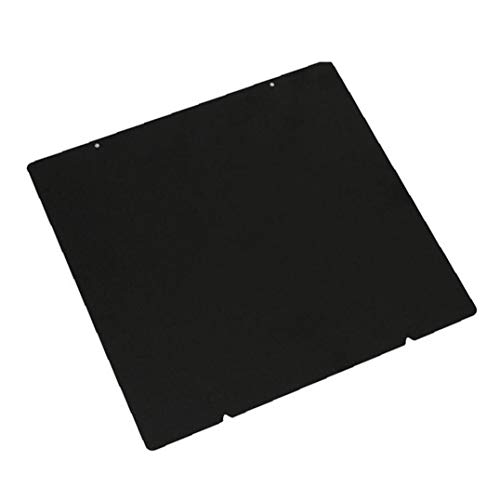 Odoukey 3d Printer Bedstead Construction Panel Pei Spring Powder Coated Steel Plate Double Side Texture Compatible with Prusa I3