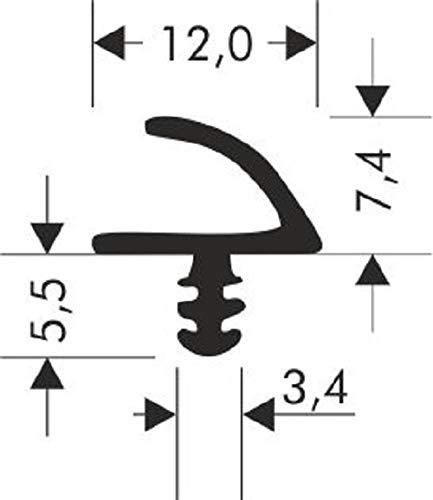 Türdichtung Zimmertürdichtung R-915 Tür Zargendichtung Haustür