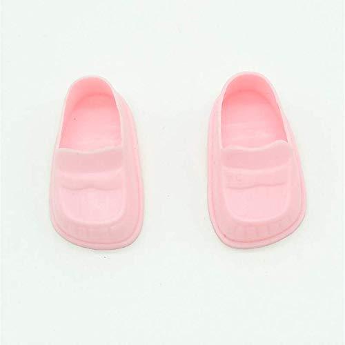 Folk Artesanía Par Zapatos para muñeca Tipo Lesly, Lucas de Famosa Nuevo. (Azules)