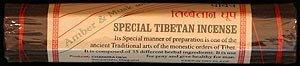 BUDDHAFIGUREN Incienso Tibetano Especial - ámbar y almizcle
