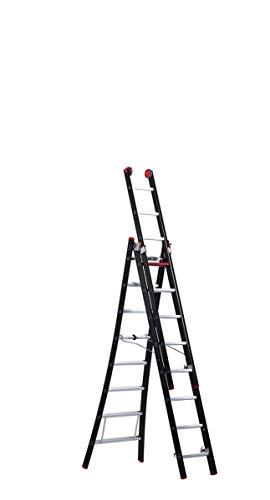 Altrex ladder NEVADA - multifunctionele ladder 3-delig, 3 x 8