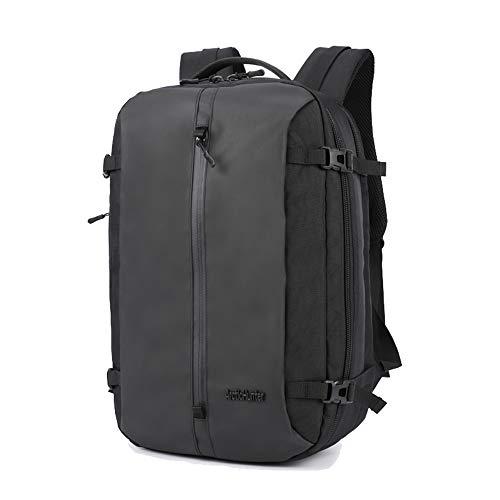 ARCTIC HUNTER リュック ラップトップバックパック ビジネス リュック pcバッグ 大容量 バッグ 通勤 通学 多機能 リュックサック メンズ バックパック 登山旅行 (ブラック)