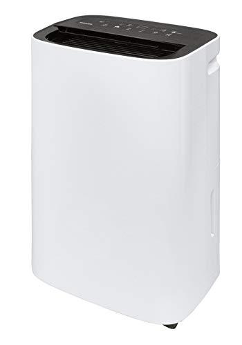 [山善] 衣類乾燥除湿機 除湿量12L (木造15畳 / 鉄筋30畳まで) コンプレッサー方式 湿度コントロール運転 オートルーバー タイマー機能 キャスター付 ホワイト YDC-D120(W) [メーカー保証1年]