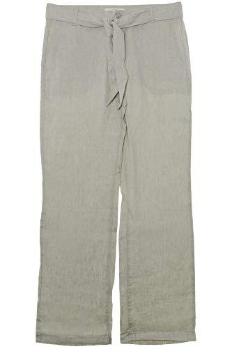 MAC Nelly Leinenhose Sommerhose Hose Damen Weites Bein 4601 0294, Farbe:beige, Damengrößen:36, Hosenlängen:L30