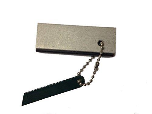 t4c T4 C Allume-feu magnésium avec Couteau comme Porte-clés avec étincelle pour Outdoor Camping