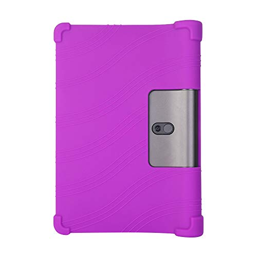 Yudesun Case for Lenovo Yoga Smart Tab/Yoga Tab 5 - Silicone Soft Pouch Shockproof Rubber Shell Protective Cover for Lenovo Yoga Smart Tab/Yoga Tab 5 YT-X705F 10.1 Inch 2019 Tablet