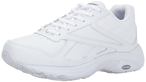 Reebok Walk Ultra V DMX Max (Wide 2E) Shoe 15 White-Flat Grey