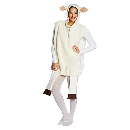 Rubies 14822-XL - Disfraz de Oveja, Color Blanco, Talla L-XL