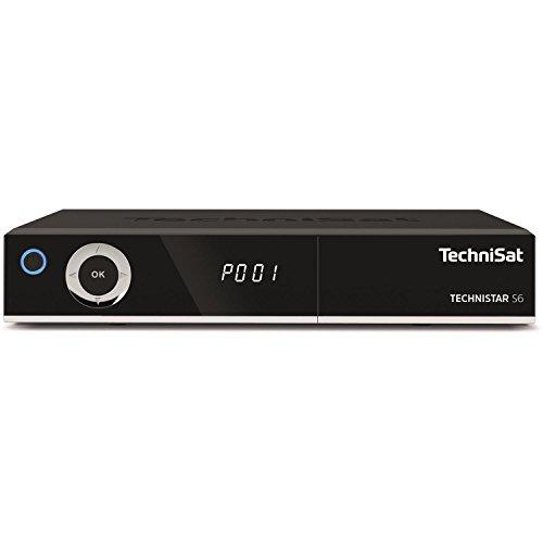TechniSat TECHNISTAR S6 Sat-Receiver, schwarz, HDMI, DVB-S, USB. CI+