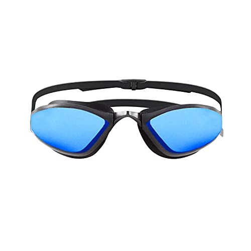 ZAOSU Z-Matrix Mirror   Occhialini da nuoto a specchio per nuotare in acque libere, colore: blu