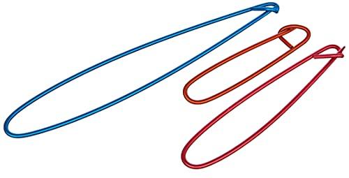 KnitPro KP45502 Ensemble de 3 Porte-Points, Bois, Multicolore, 27 x 0,9 x 12,5 cm