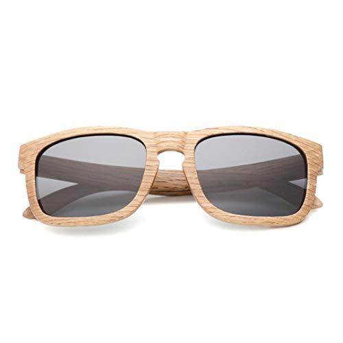 PZXY Holz Sonnenbrillen Im Freien polarisierte UV-Schutzbrillen der Bambuspersönlichkeit für Männer und Fraue