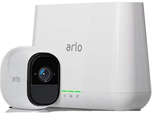 Arlo VMS4130-100EUS Pro Smart Caméra de Surveillance, Pack de 1,720p, Jour/Nuit, Grand...
