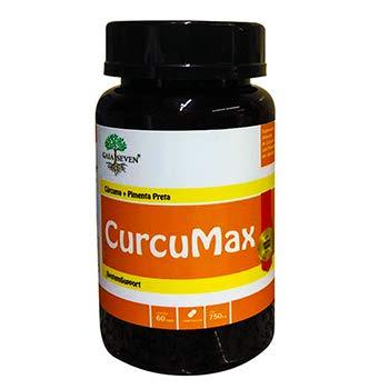 CURCUMAX - Cúrcuma+Piperina - MAIOR ABSORÇÃO e IMUNIDADE