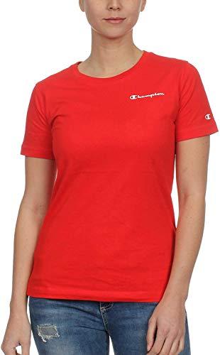 Champion T-shirt pour femme, en jersey, 150 g, couleur rouge, XXL