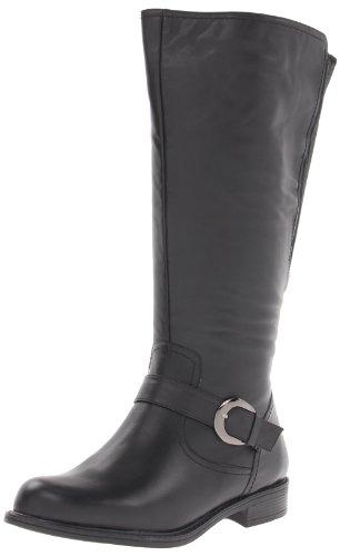 David Tate Women's Branson - Extra Wide Shaft Black Boot 8.5 WW (EE)