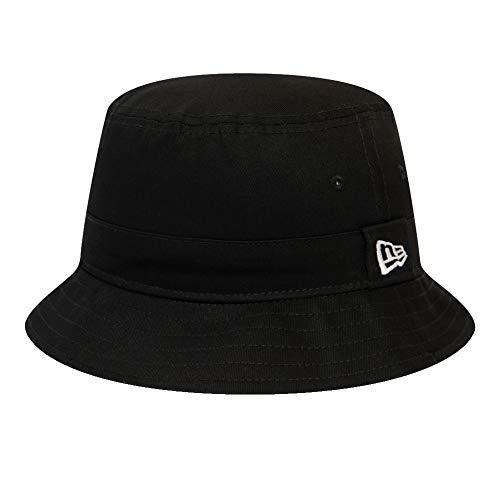 New Era Essential Bucket - Sombrero de pescador, negro, extra-large