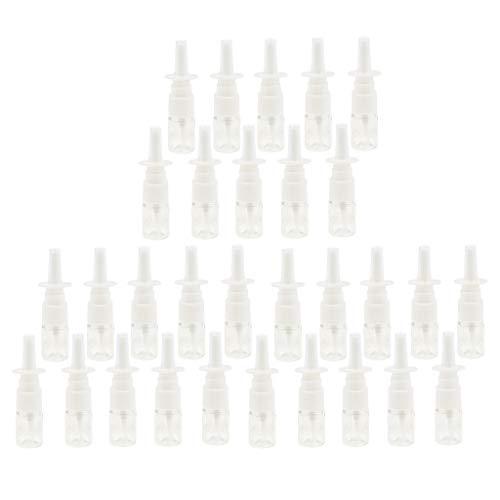 Sharplace Botellas de Spray Nasal a Granel de 30 Piezas, Contenedor de Perfumes de Agua de Maquillaje de Niebla Fina