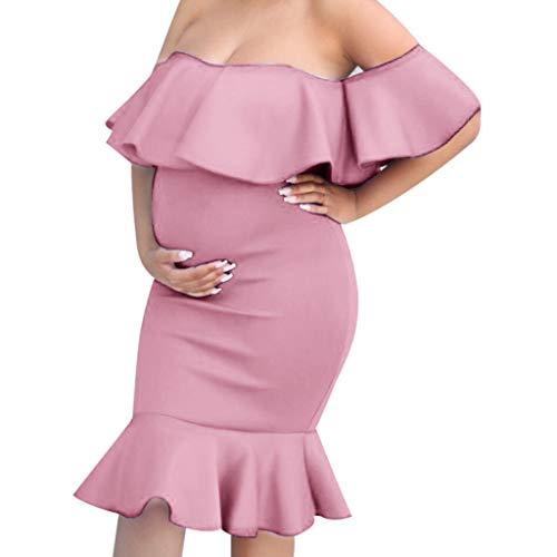 TTMall Abiti Eleganti Donne Incinte, Lunga Donna Vestito da Donna Eleganti maternità Vestiti...