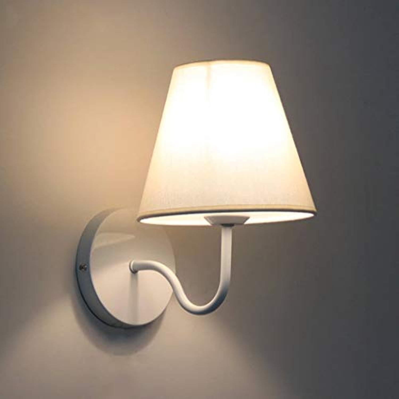 Wandleuchte Einfache Wohnzimmer Schlafzimmer Nachttischlampe Gang Wandleuchten Neue (Farbe  wei)