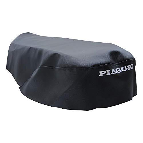 Vespa ET2 ET4 Sitzbankbezug mit Schriftzug Piaggio schwarz Bezug Sitz Bank Piaggio
