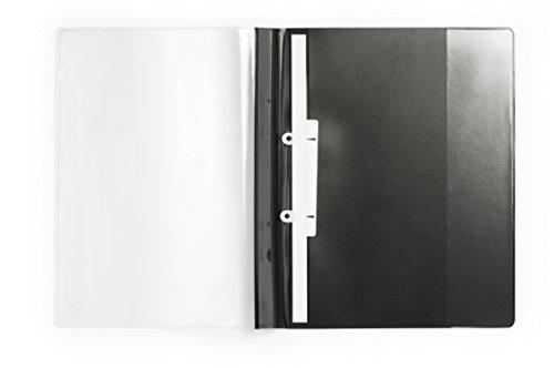 Durable 258901 Angebotshefter Duraplus de Luxe, 25er Packung schwarz