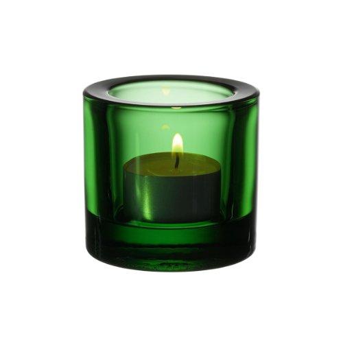 Iittala Kivi - Stimmungsbeleuchtung/Teelichthalter/Windlicht - Grün - Glas - Ø 6 cm - Höhe 6 cm